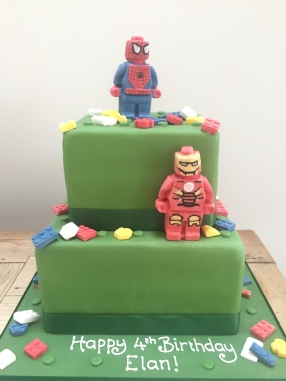 Lego Marvel Hero Cake